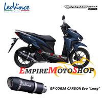 Knalpot Leovince Honda Vario 150 GP Corsa EVO Carbon Fullsystem