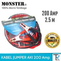 Kabel Jumper Aki / Accu 2.5m (200MaH)
