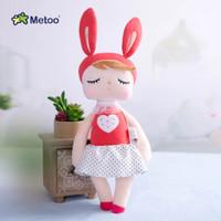 Kado Mainan anak Perempuan Boneka Metoo New Love Merah Free Paperbag