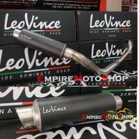 Knalpot Leovince Honda PCX 150 2018 GP Corsa Carbon Fullsystem