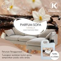 Parfum Sofa Bed Gorden Aroma Vanilla 500 mL