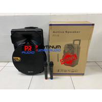 Speaker Portable SOUNDBEST FT15 / FT 15 ORIGINAL 15 inch Suara Jernih