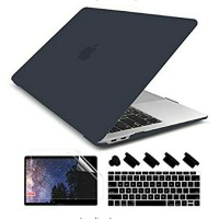 MacBook Air 13 2020 2019 2018 Case + Keyboard + Screen Guard+Dust plug