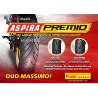 BAN ASPIRA PREMIO 100/80-14 SPORTIVO/FREE PENTIL TUBLES