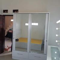 lemari sliding 2 pintu lemari sleding door