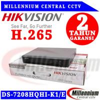 DVR HIKVISION 8CH DS-7208HQHI-K1/E TURBO HD SUPPORT 5MP GARANSI RESMI