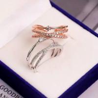 cincin korea emas silver kimcalie berkualitas