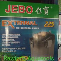 Jebo External filter 225 aquarium aquascape