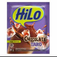 Hilo Chocolate Taro (1 renceng isi 10 sachet)