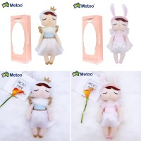Kado Mainan Anak Boneka Metoo Edisi Angel Free Paperbag