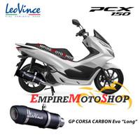 Knalpot Leovince Honda PCX 150 2018 GP Corsa EVO Carbon Fullsystem