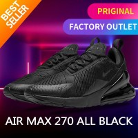 Nike Air Max 270 Triple full Black sneakers original - 42