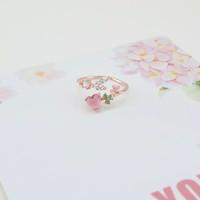 cincin hati korea lucu desain ny kimcalie