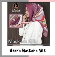 Jilbab azara maskara silk