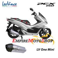 Knalpot Leovince Honda PCX 150 2018 LV One Mini LV1 Fullsystem