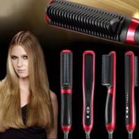 Catok Sisir Pelurus Rambut New Fast Hair Straightener