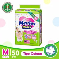 Popok Bayi Merries Good Skin M50/L44/XL38