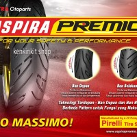 BAN ASPIRA PREMIO 110/80-14 SPORTIVO/FREE PENTIL TUBLES