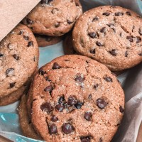 Soft Chewy Chocochips Cookies