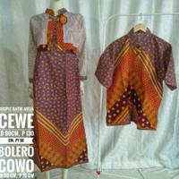 SALE Baju Couple Kemeja Batik Gamis Batik Aulia Couple