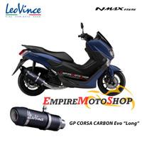 Knalpot Leovince GP Corsa Evo Yamaha Nmax Fullsystem