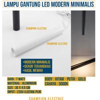 Lampu Gantung LED Hias Dekorasi Modern Elegan Minimalis