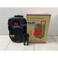 Speaker Portable SOUNDBEST FT12 / FT 12 ORIGINAL 12 inch Suara Jernih