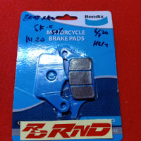 Kampas Rem Depan Bendix For Beat New, Beat FI, Vario 125