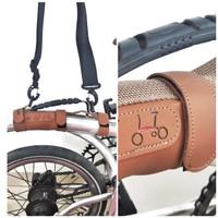 Handle grip frame sepeda lipat COKLAT