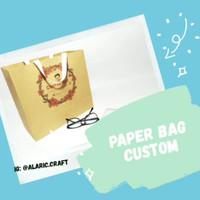 Paper Bag Custom / Paper Bag Cetak 2 Sisi