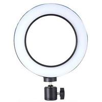 Lampu Halo Ring Light LED Kamera 8W 6 Inch - RL-19 - White