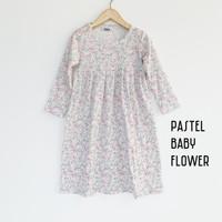 Gamis Lakawa Pastel Baby Flower