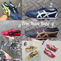 Sneakers Onit size 39 - 44 sepatu pria casual kets navy merah kuning