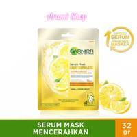 Garnier Serum Mask Light Complete masker wajah