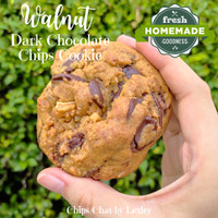 Best New York City Soft Baked Chewy Walnut Chocolate Chips Cookies