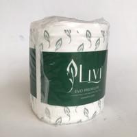 tissue LIVI evo elegant premium bathroom tissue roll toilet