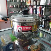 Panci Sauce Pot D20cm Zebra Wisdom Plus, SUS 304, Thailand Made