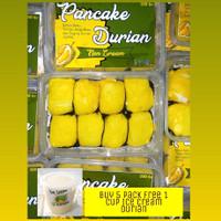 Pancake Durian Non Cream Asli Medan Aman Buat Diet