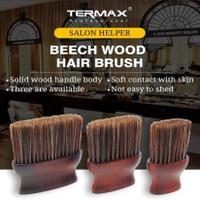Kuas Barber Brush Premium Wood size L