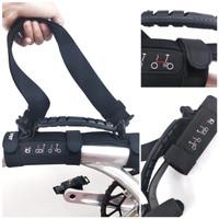 Handle grip frame sepeda lipat HITAM