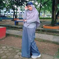 Rok Celana Gunung outbond outdoor merk Rickyrieez adventure wear - Abu tua, M