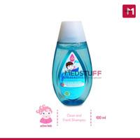 Johnsons Baby Shampoo Active Fresh 100ml Shampoo Bayi Johnson
