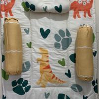Baby Bed Cover Set bahan Katun Jepang adem