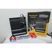 Mixer Audio BETAVO KING80 KING 80 ORIGINAL Vocal Effect DSP 8 Channel