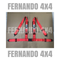 Safety Belt HudHud 4 Titik Off Road (Merah)