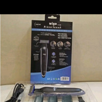 Alat Pencukur Kumis Jenggot Electric Micro touch Cahrger Wigo W-05E