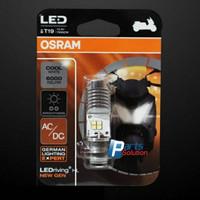 Bohlam LED Putih Motor Bebek Matic OSRAM T19 NEW GEN H6 M5 AC DC 6000K