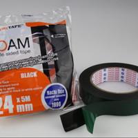 Isolasi Double Tape Foam Nachi 24mm x 5m Spon Hijau