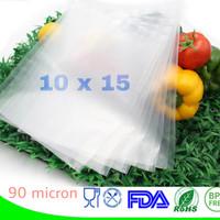 Plastik Vacuum Sealer Emboss (10x15) / Plastik Vakum / Vakum Sealer
