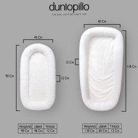 Dunlopillo Baby Nest - Grand Deluxe 90x45x11 cm